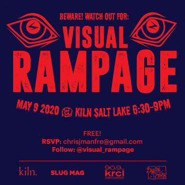 Visual Rampage design event at Kiln event space in Salt Lake City