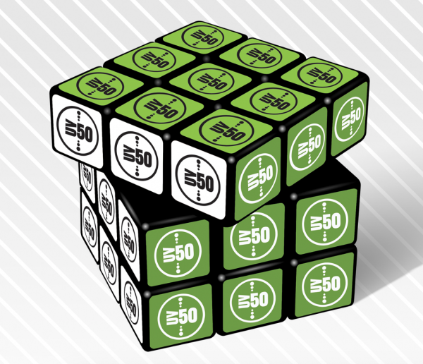 50 Office based start-ups rubix cube