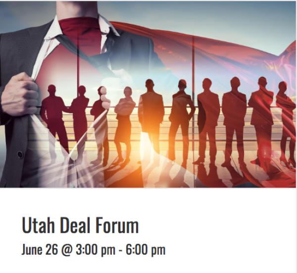 Venture Capital Utah Deal Forum
