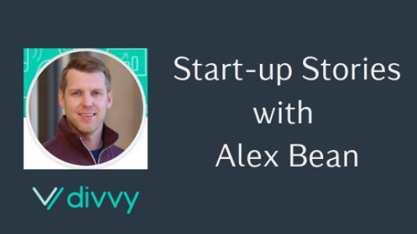 start-up stories Alex Bean